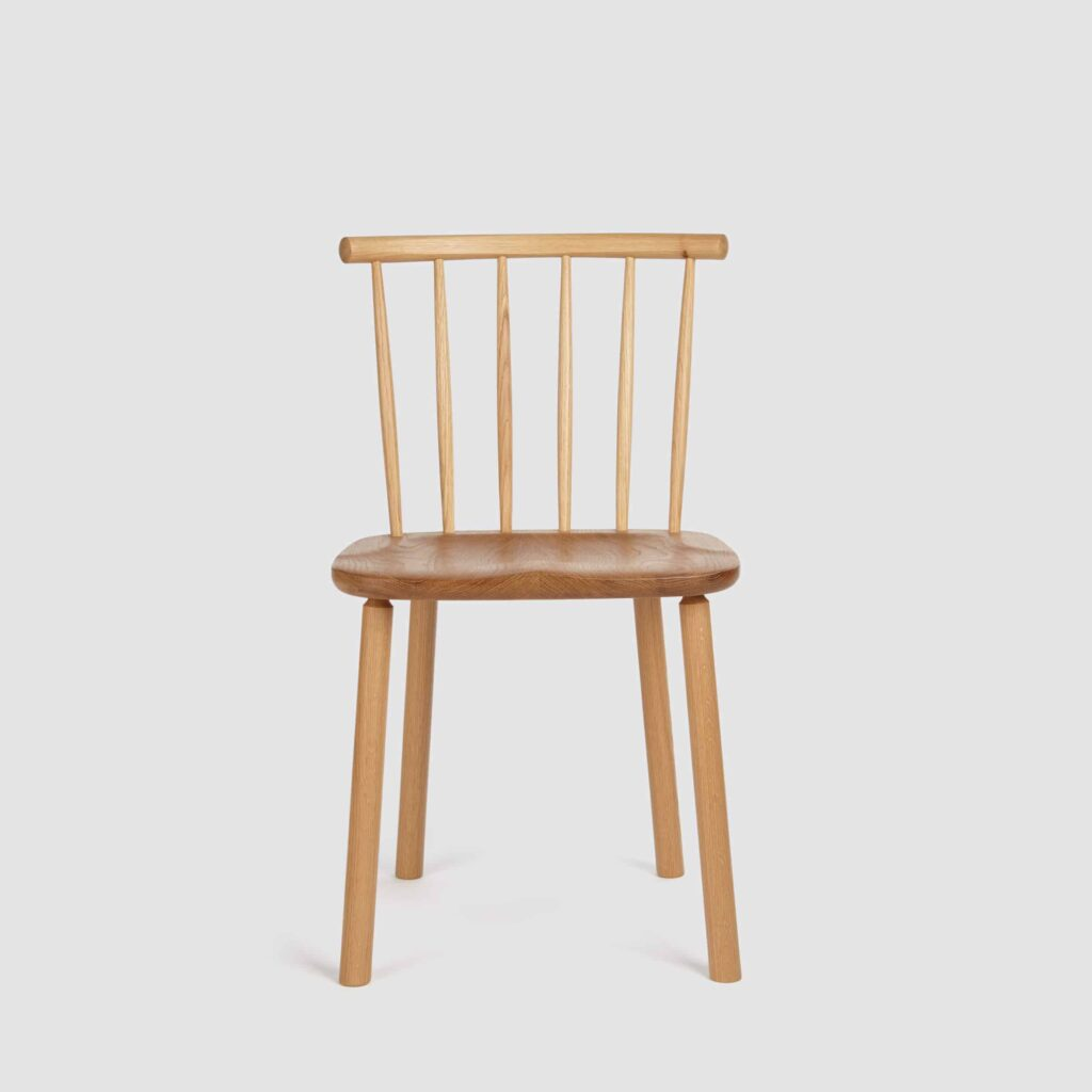 Hardy Oak Side Chair by Another Country