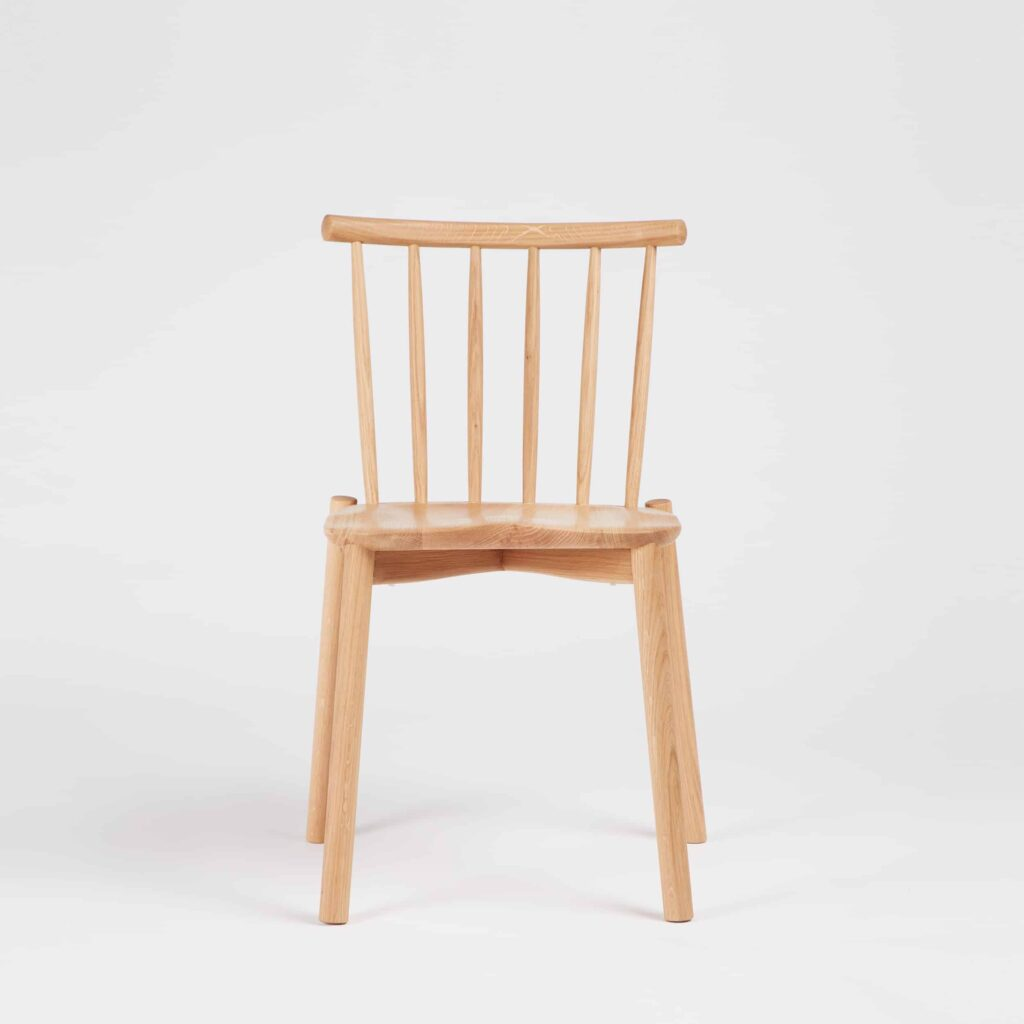 Oak Hardy Stacking Chair by Another Country