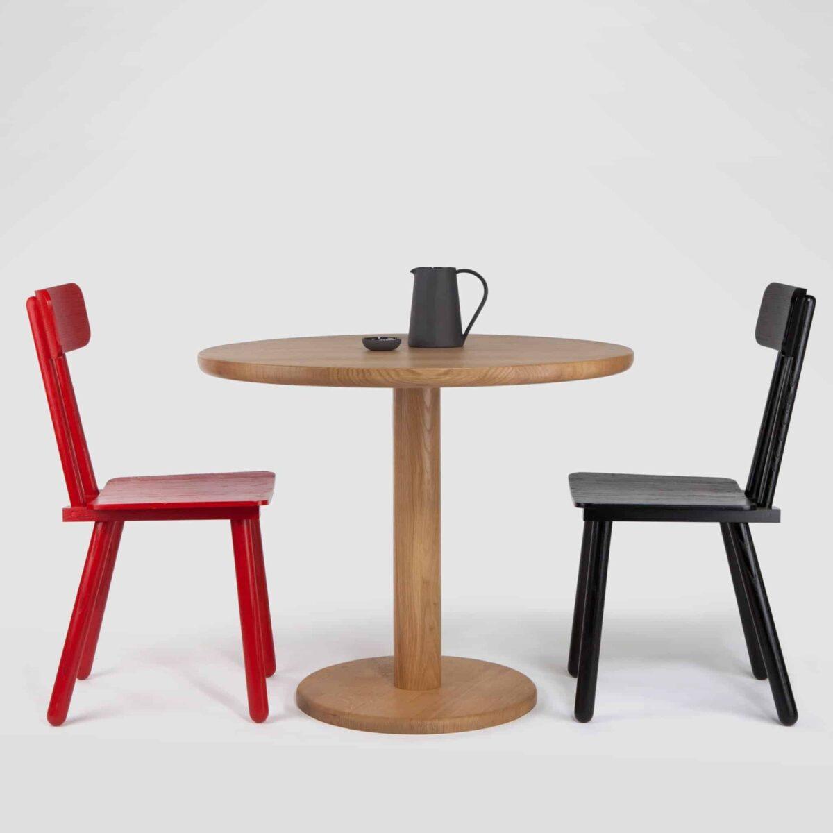 Pedestal Table One, Round
