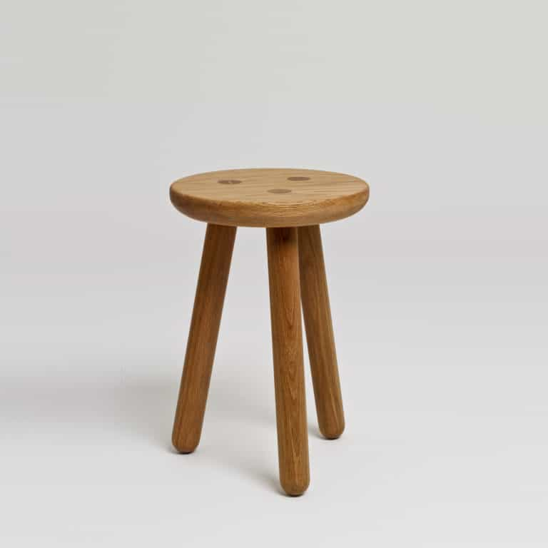 Stool One Oak Another Country